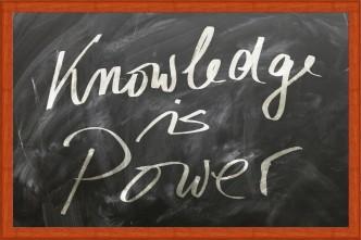 """Abbildung 1: """"Wissen ist Macht"""" lautet eine alte Weisheit, die der Engländer Francis Bacon geprägt hat."""